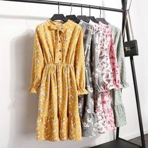 Vintage Long Sleeve Dres